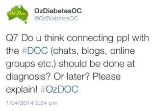 OzDOC tweet