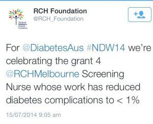 RCH tweet