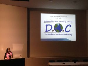 Presenting at yesterday at the Royal Melbourne Hospital's Grand Rounds and promoting the value of the DOC.
