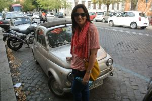 In Roma with my dream car.