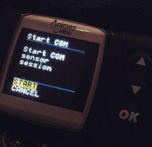 Sensor start