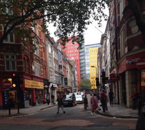 Denmark Street for music stores (London 2014)