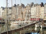 The gorgeous seaside Honfleur in Normandy.