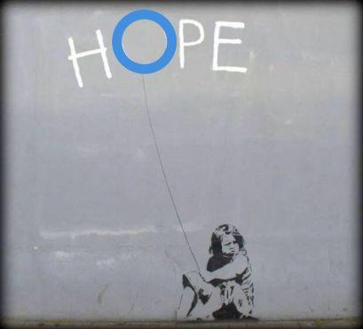 Hope banksy