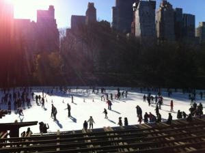 Ice skating in Central Park (New York City 2011)
