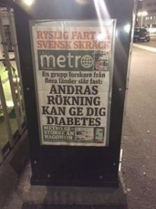 diabetes newspaper in Stockholm
