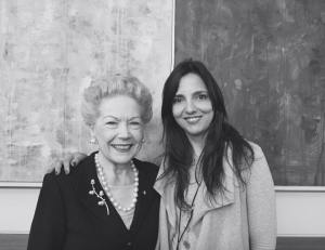 Spending time with inspirational women is one of the perks of this job. Sue Alberti at the joint PDSG and young Leaders lunch.