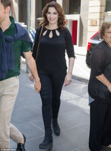 Nigella Lawson in Melbourne last week.